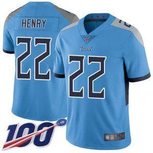 Mens Titans Derrick Henry 100th Season Jerseys